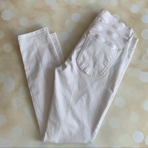 Gap white legging jeans